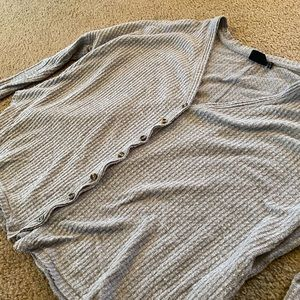 Urban Outfitters Cozy Button Up Long Sleeve